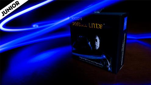 Rocco's SUPER BRIGHT Prisma Lites Pair JUNIOR (Blue) - Trick