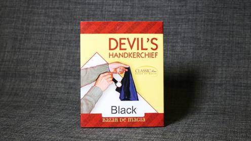 Devil's Handkerchief (NERO) by Bazar de Magia - Fazzoletto del Diavolo