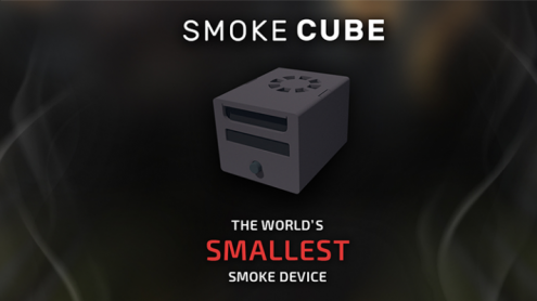 SMOKE CUBE (Gimmick and Online Instructions) by João Miranda - Trick