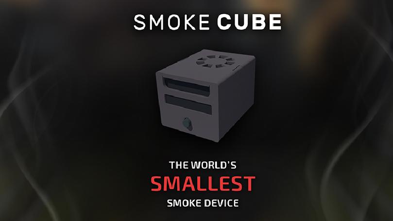 SMOKE CUBE (Gimmick and Online Instructions) by João Miranda - Trick