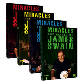 Miracles - The Magic of James Swain Set Vol 1 thru Vol 4) video DOWNLOAD