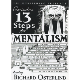 13 Steps To Mentalism (6 Videos) by Richard Osterlind video DOWNLOAD
