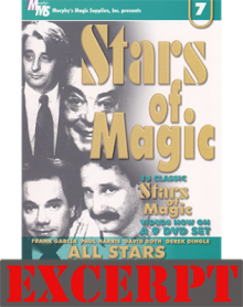 Too Many Cards video DOWNLOAD (Excerpt of Stars Of Magic n.7 (All Stars))