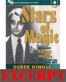 Cigarette Through Quarter video DOWNLOAD (Excerpt of Stars Of Magic n.4 (Derek Dingle))