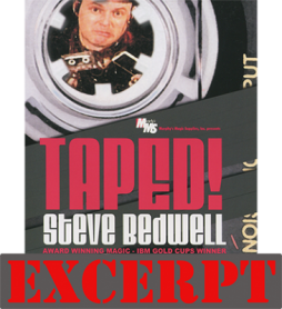 Parked Card! video DOWNLOAD (Excerpt Taped!) by Steve Bedwell