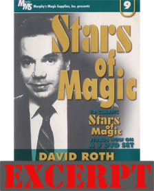 Super Clean Coins Across video DOWNLOAD (Excerpt of Stars Of Magic n.9 (David Roth))