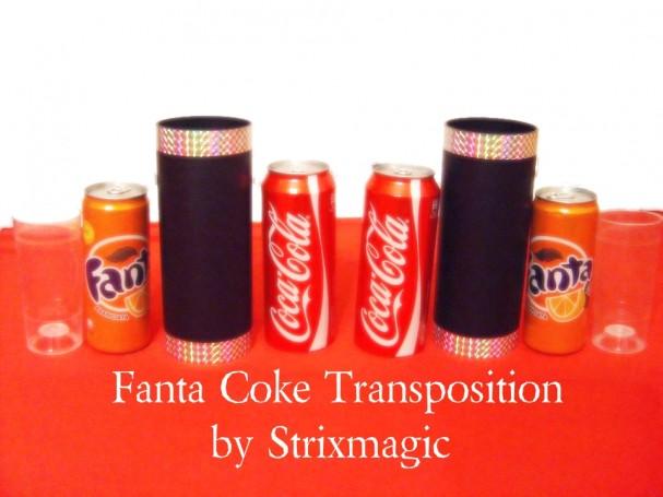 Fanta Coke Transposition by Strixmagic - Trick