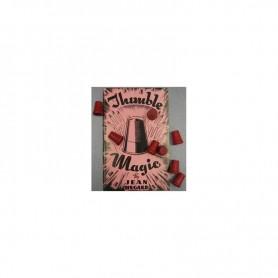 Red Thimbles 8 pcs- Wood