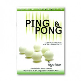 Ping and Pong by Wayne Dobson - Book