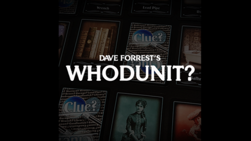 Dave Forrest's WHODUNIT? (Gimmicks and Online Instructions) - Trick