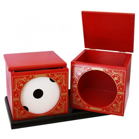 Split Die Box - Rossa
