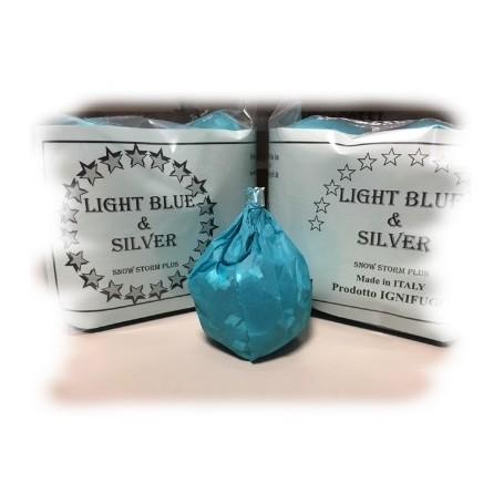 Nevicata Snow Storm Plus Light Blue & SIlver- Professional Magic