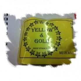 Nevicata Snow Storm Yellow & Gold - Professional Magic