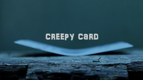 Creepy Card by Arnel Renegado