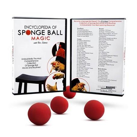 Encyclopedia of Sponge Ball Magic - DVD