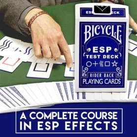 Bicycle ESP Test Deck Playing Cards with Complete Online Learing