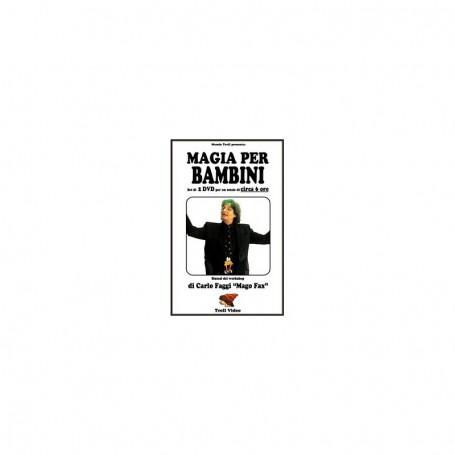Magia Per Bambini con Carlo Faggi - Set 2 DVD