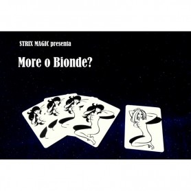 Blonde or Black Card Illusion By Strixmagic