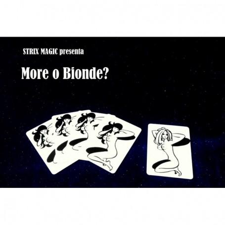 Blonde or Black Card Illusion By Strixmagic