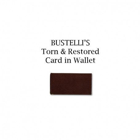 Torn & Restored Card in Wallet by Bustelli