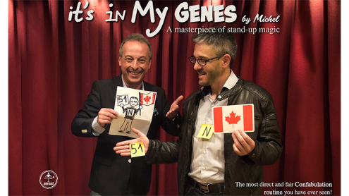 It's in My Genes (Gimmicks and Online Instructions) by Michel - Trick
