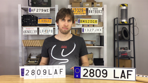 LICENSE PLATE PREDICTION - SPAIN (Gimmicks and Online Instructions) by Martin Andersen - Trick