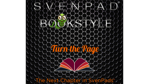 SvenPad® Bookstyle (Black and Green) - Trick