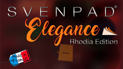 SvenPad® Elegance Rhodia® Edition (Single, Orange Cover) - Trick