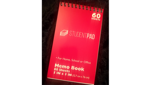 SvenPad® KoD Memo Pad (Red, Single) - Trick