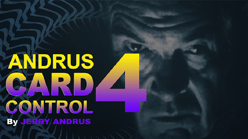 Andrus Card Control 4 by Jerry Andrus Taught by John Redmon