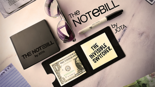 The NOTEBILL (Gimmick and Online Instructions) by JOTA - Trick
