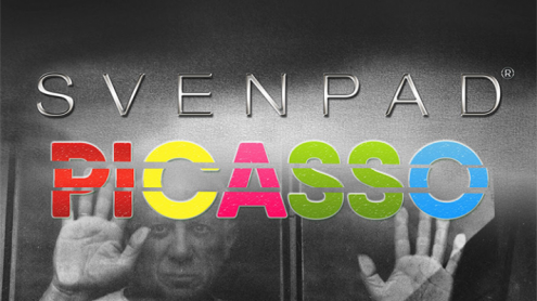 SvenPad® Picasso: Large Solid (No Sections) - Trick