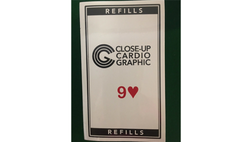 9H Refill Close-up Cardiographic by Martin Lewis - Trick