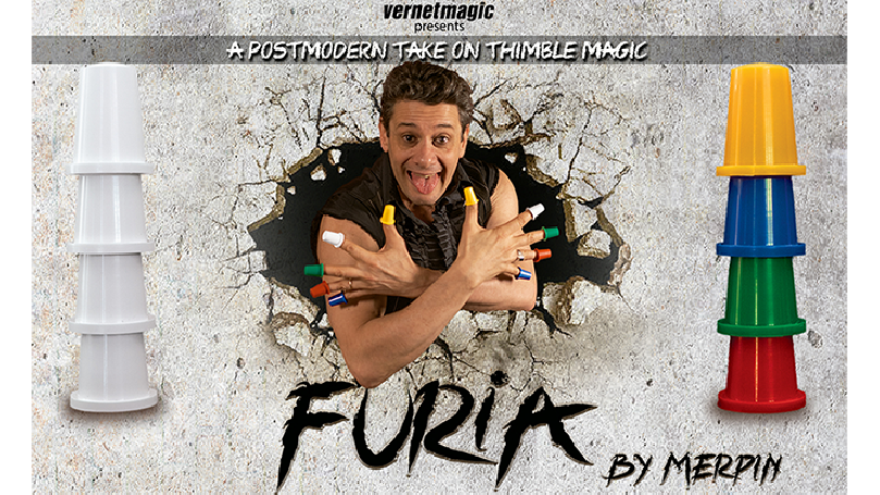 Furia (Gimmicks and Online Instructions) by Merpin - Trick