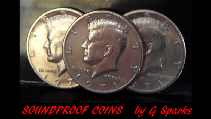 Soundproof Coins by G Sparks Magic - Trick