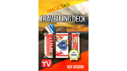 Travelling Deck Box Version Red (Gimmick and Online Instructions) by Takel - Trick