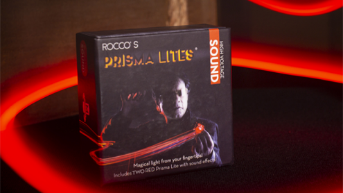 Rocco's Prisma Lites SOUND Pair (High Voltage/Red) - Trick
