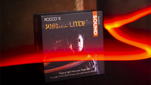 Rocco's Prisma Lites SOUND Pair (Magic/Red) - Trick