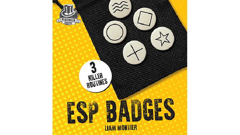 ESP Badges by Liam Montier and Kaymar Magic