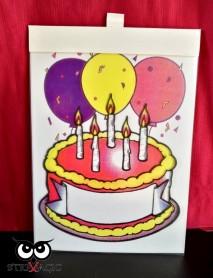 VISUAL COLORING (mod.3024) - Inserto Torta di Compleanno