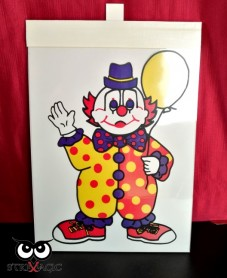 VISUAL COLORING (mod.3024) - Inserto Clown