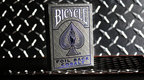 Bicycle Rider Back Cobalt Luxe (Blue) Version 2 by US Playing Card Co