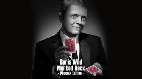 Boris Wild Marked Deck Phoenix Edition (Standard Index) - Trick