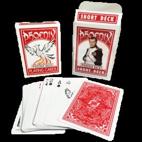 Phoenix Short Deck Red (Casino Quality) by Card-Shark