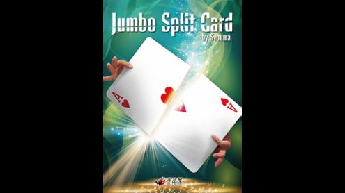 JUMBO Split Card by Syouma - Trick