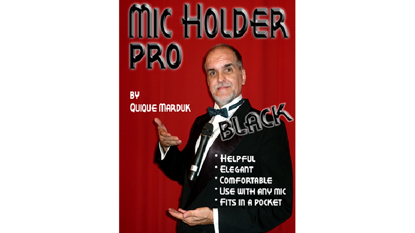 Pro Mic Holder (Black) by Quique marduk - Trick