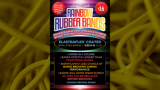 Joe Rindfleisch's SIZE 16 Rainbow Rubber Bands (Russell Leeds -Yellow ) by Joe Rindfleisch - Trick