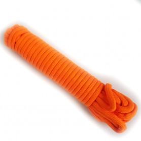 Corda Fluorescente Per Maghi - Arancione Fluo - 15 mt