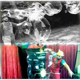 Durex Bubble - 1 Litro di Concentrato per Bolle di Sapone Giganti Che Durano