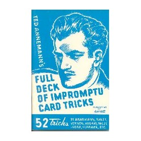 Full Deck of Impromptu Card Tricks by T. Annemann - Libro